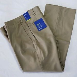Apt. 9 Dress Pants Men's Tan 38 x 29 Slim Fit New
